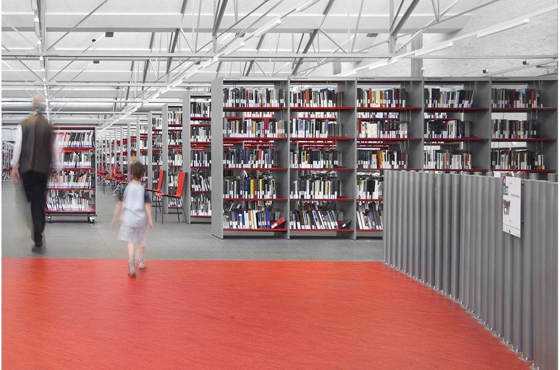 Openbare bibliotheek Antwerpen, België - Openbare bibliotheek