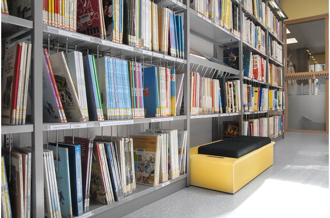 Bertrix Public Library, Belgium - Public libraries