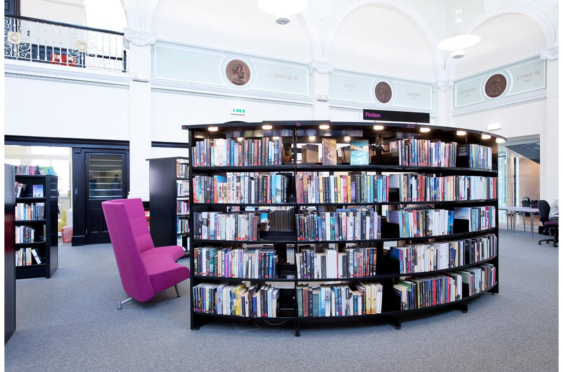 Eccles Public Library, United Kingdom - Public libraries