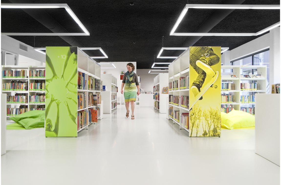 Öffentliche Bibliothek Affligem, Belgien - Öffentliche Bibliothek