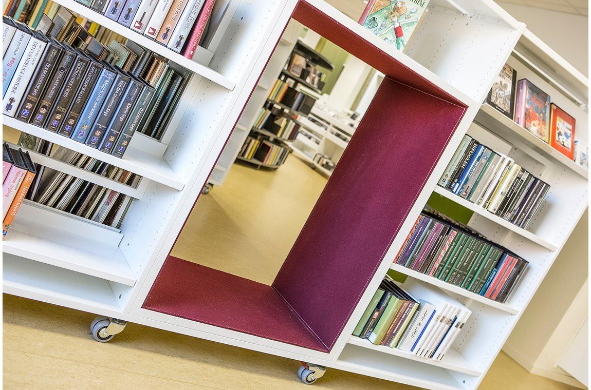 Öffentliche Bibliothek Christiansfeld, Dänemark - Öffentliche Bibliothek