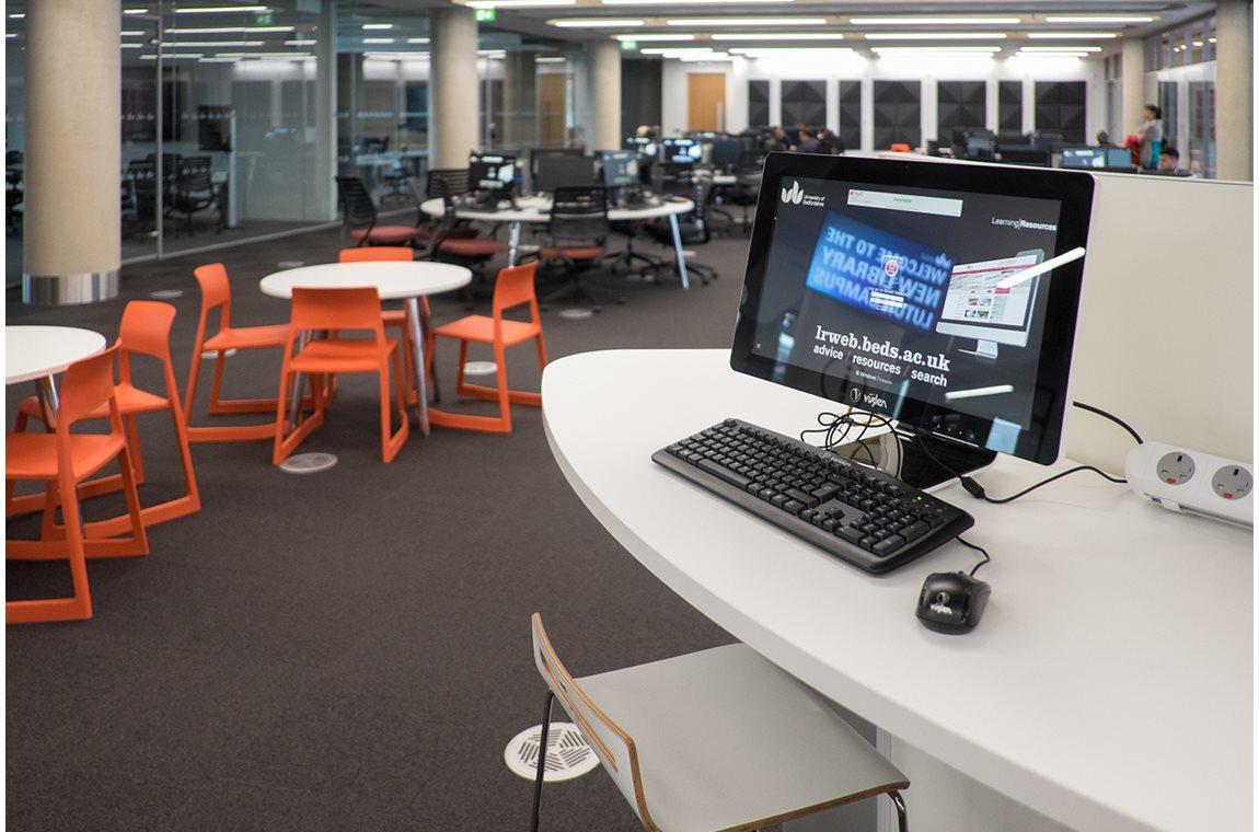De Universteit van Bedforshire, Verenigd Koninkrijk - Wetenschappelijke bibliotheek