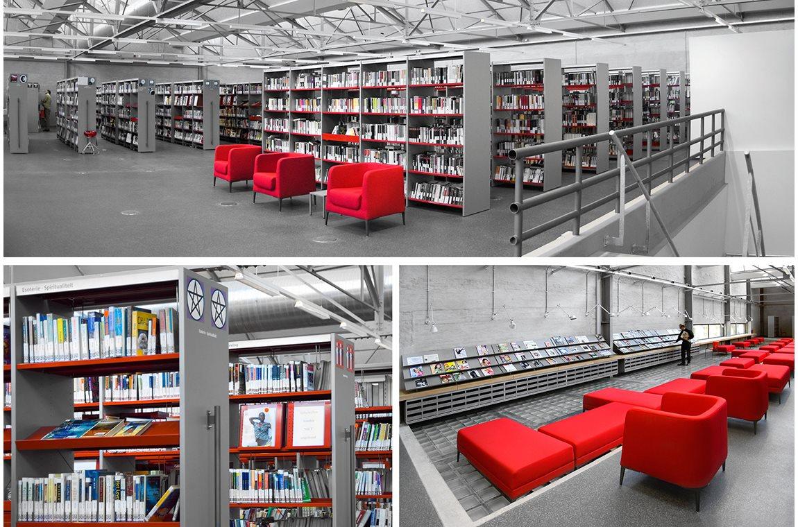 Antwerpen Bibliotek, Belgien - Offentligt bibliotek