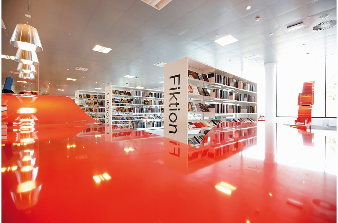 Hjørring Public Library, Denmark - Public libraries
