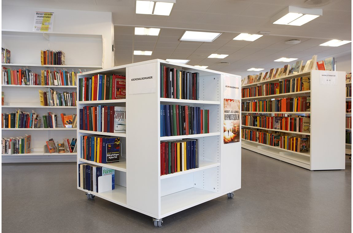 Svenstrup Bibliotek, Denmark - Offentligt bibliotek