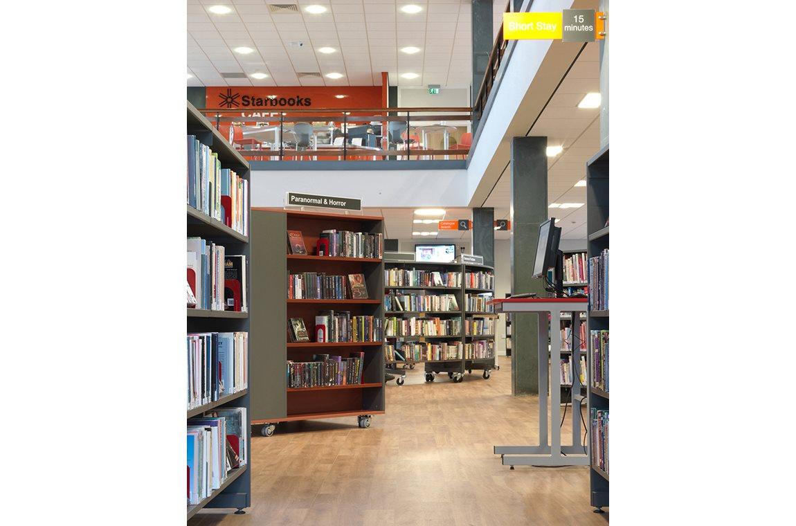 Bibliothèque municipale de Stockton, Royaume-Uni - Bibliothèque municipale
