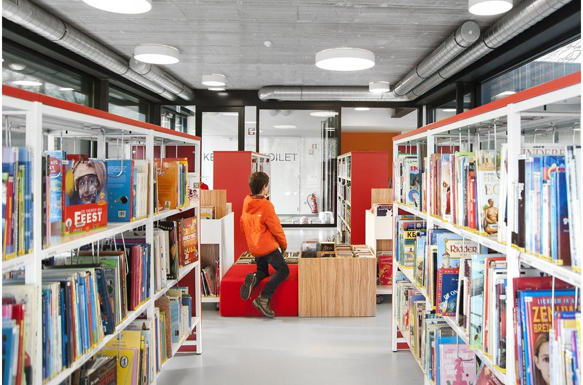 Öffentliche Bibliothek Drongen, Belgien - Öffentliche Bibliothek