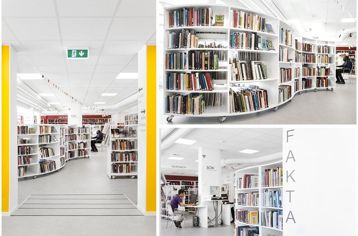 Kallhälls Public Library, Sweden - Public libraries