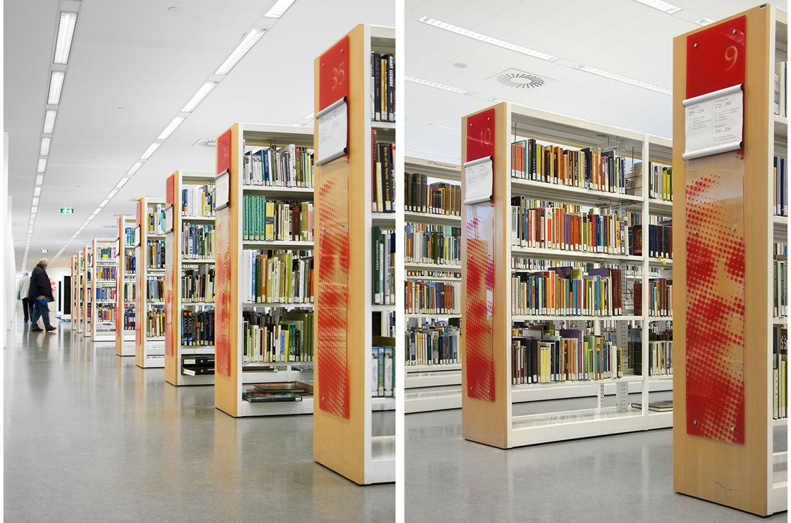 Haag centralbibliotek, Holland - Offentligt bibliotek