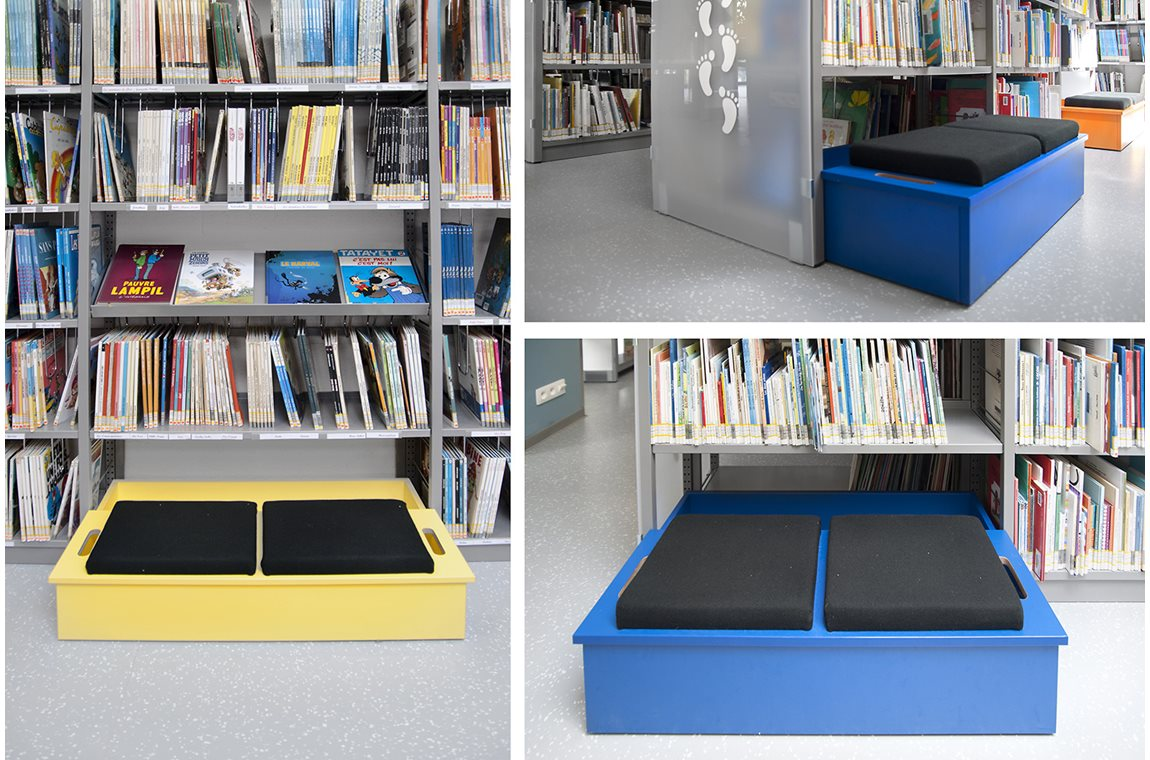 Öffentliche Bibliothek Bertrix, Belgien - Öffentliche Bibliothek