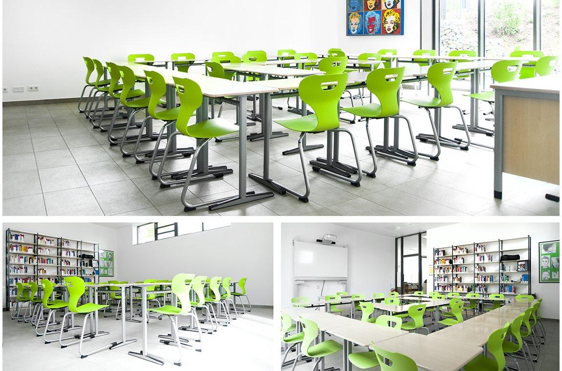 Casanus skolebibliotek, Wittlich, Tyskland - Skolebibliotek