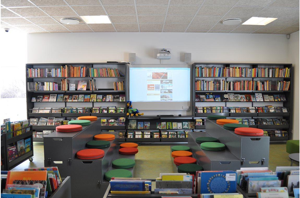 Ørbæk Bibliotek, Danmark -