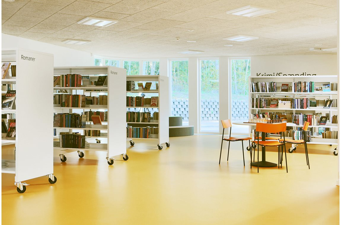 Öffentliche Bibliothek Tommerup, Dänemark - Öffentliche Bibliothek