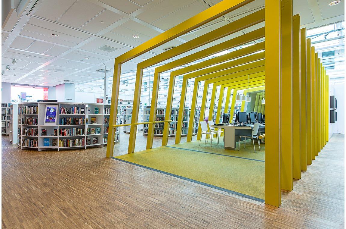 Openbare bibliotheek Kista, Stockholm, Zweden - Openbare bibliotheek