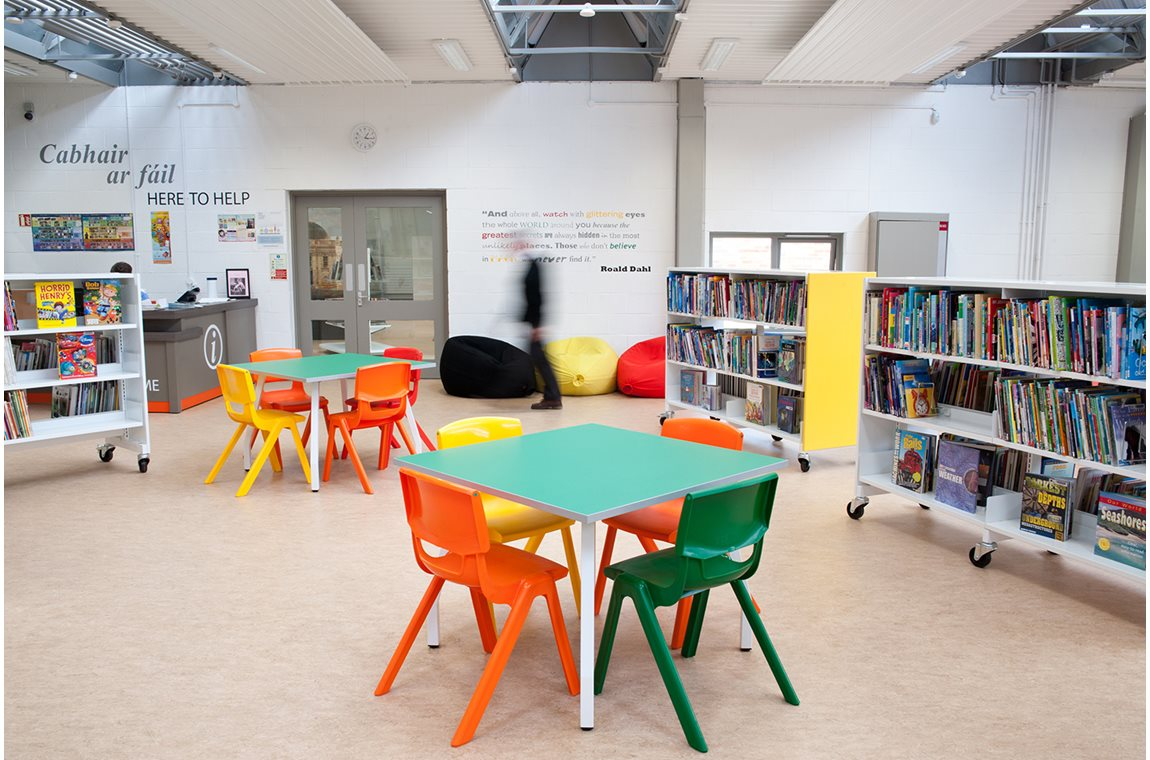 Ballyfermot bibliotek, Irland - Offentliga bibliotek