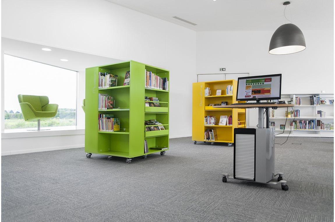 Mediatheek Jean Ferrat, Rouvroy, Frankrijk - Openbare bibliotheek