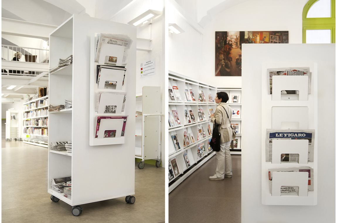 Lyon 1er Public Library, France - Public libraries