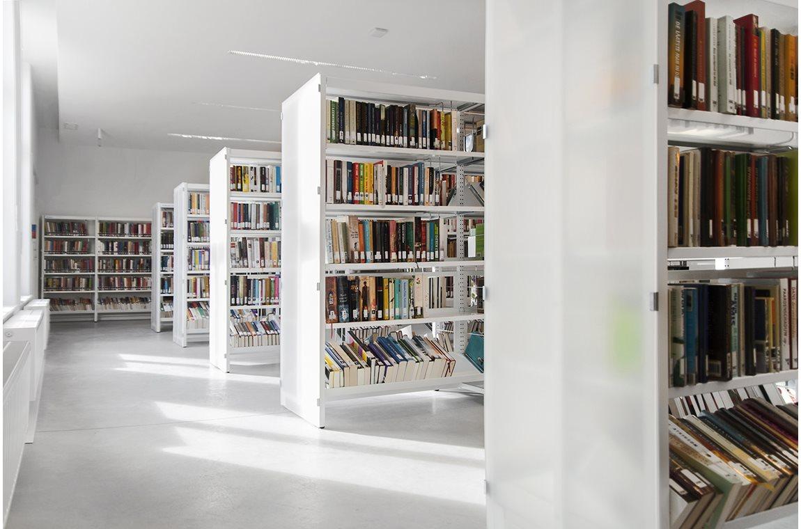 Sint-Andries bibliotek, Stad Brugge, Belgien - Offentligt bibliotek