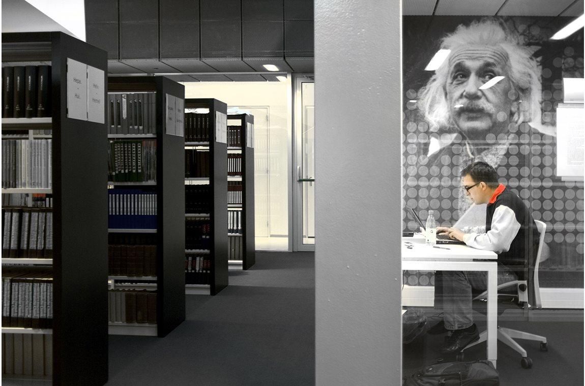 Groningen universitetsbibliotek, Holland - Akademisk bibliotek