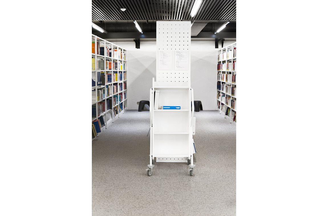 BiblioLab Campus Belval, Luxembourg Universitet, Esch-zur-Alzette - Akademisk bibliotek