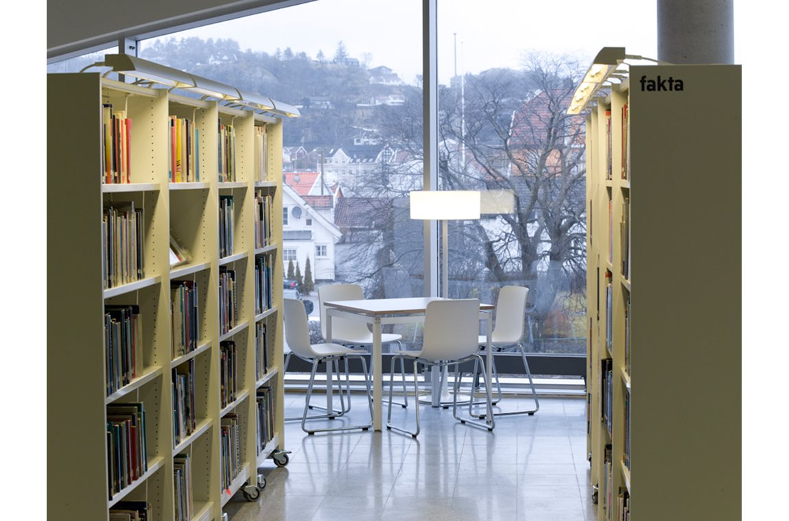 Buen Culture centre in Mandal, Norway - Public libraries