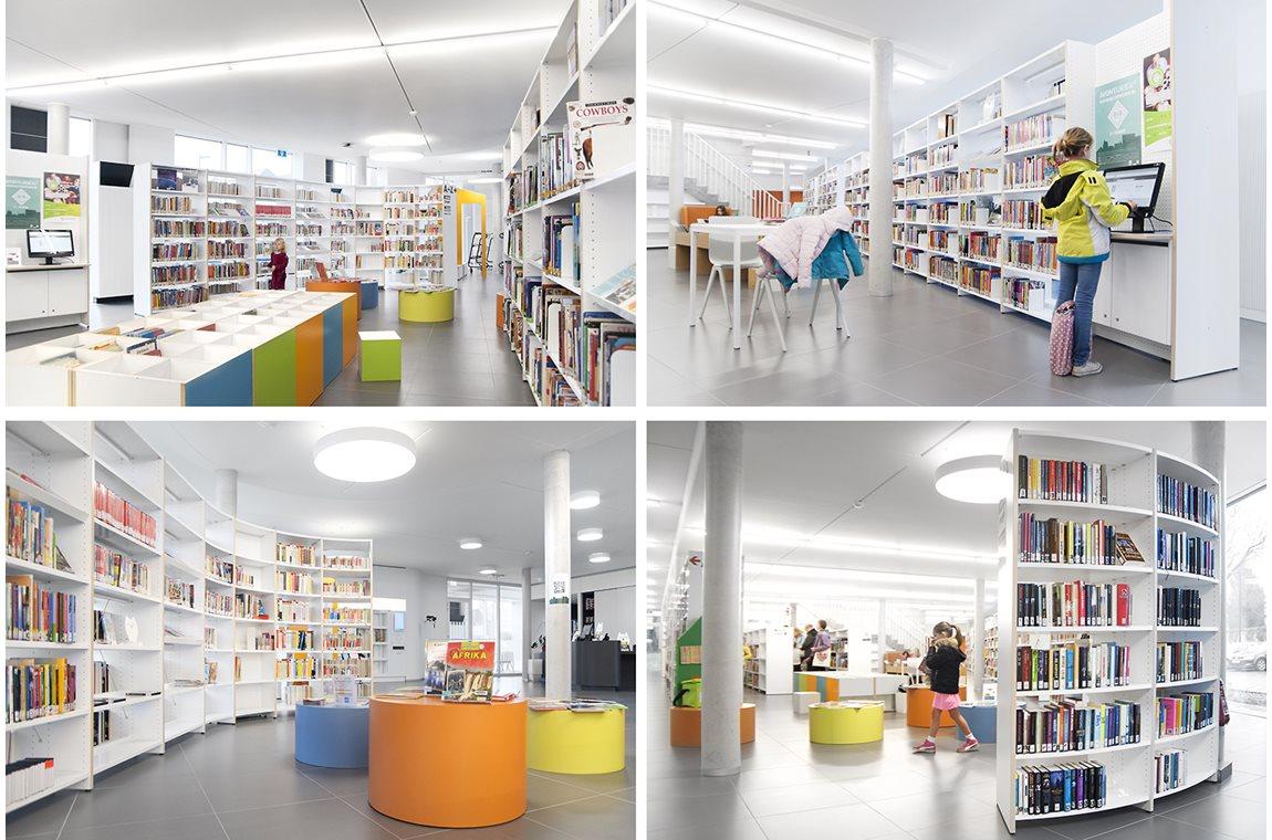 Openbare bibliotheek Ternat, België  - Openbare bibliotheek