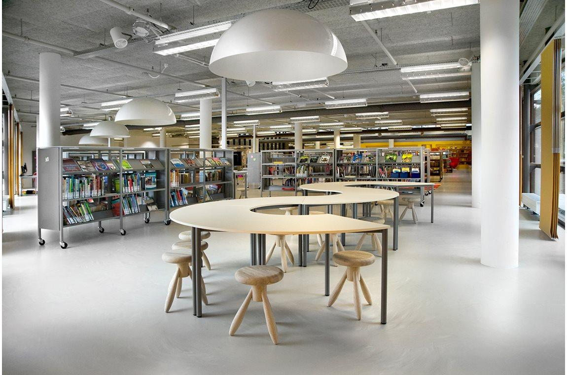 Heemskerk bibliotek, Holland - Offentliga bibliotek