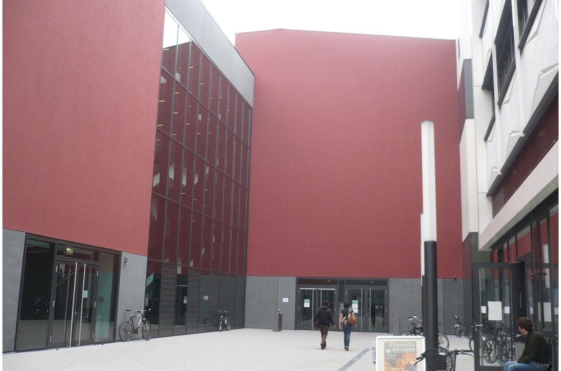 Wetenschappelijke bibliotheek Leipzig, Duitsland - Wetenschappelijke bibliotheek