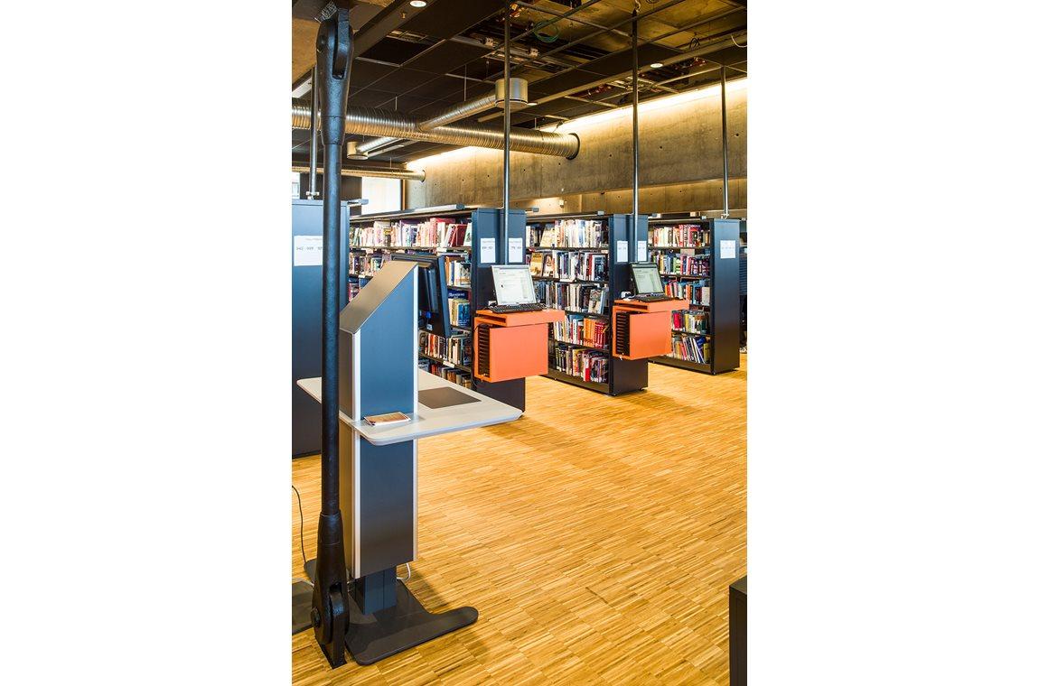 Hamar bibliotek, Norge - Offentliga bibliotek
