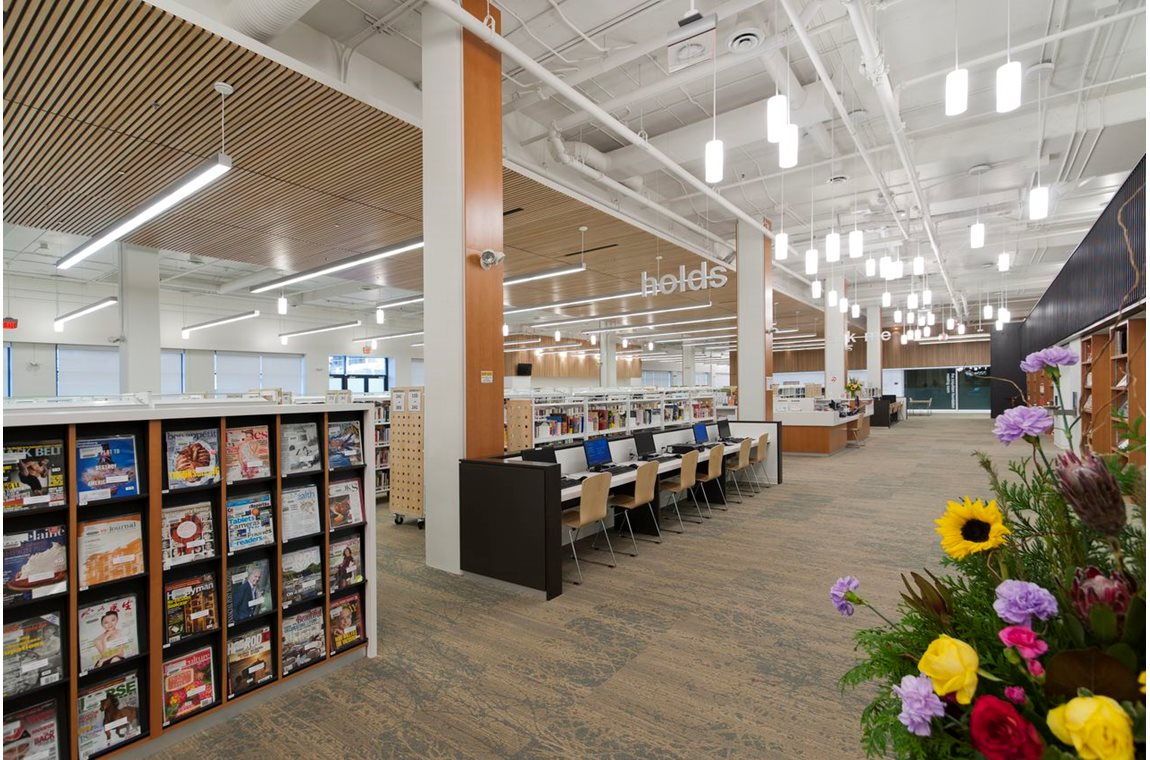 Openbare bibliotheek Coquitlam, Canada - Openbare bibliotheek