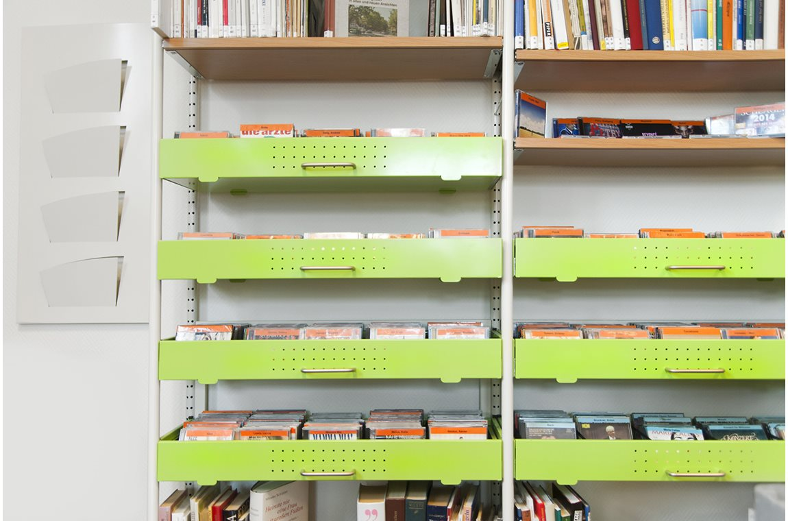 Bibliothèque municpale de Rangsdorf, Allemagne - Bibliothèque municipale