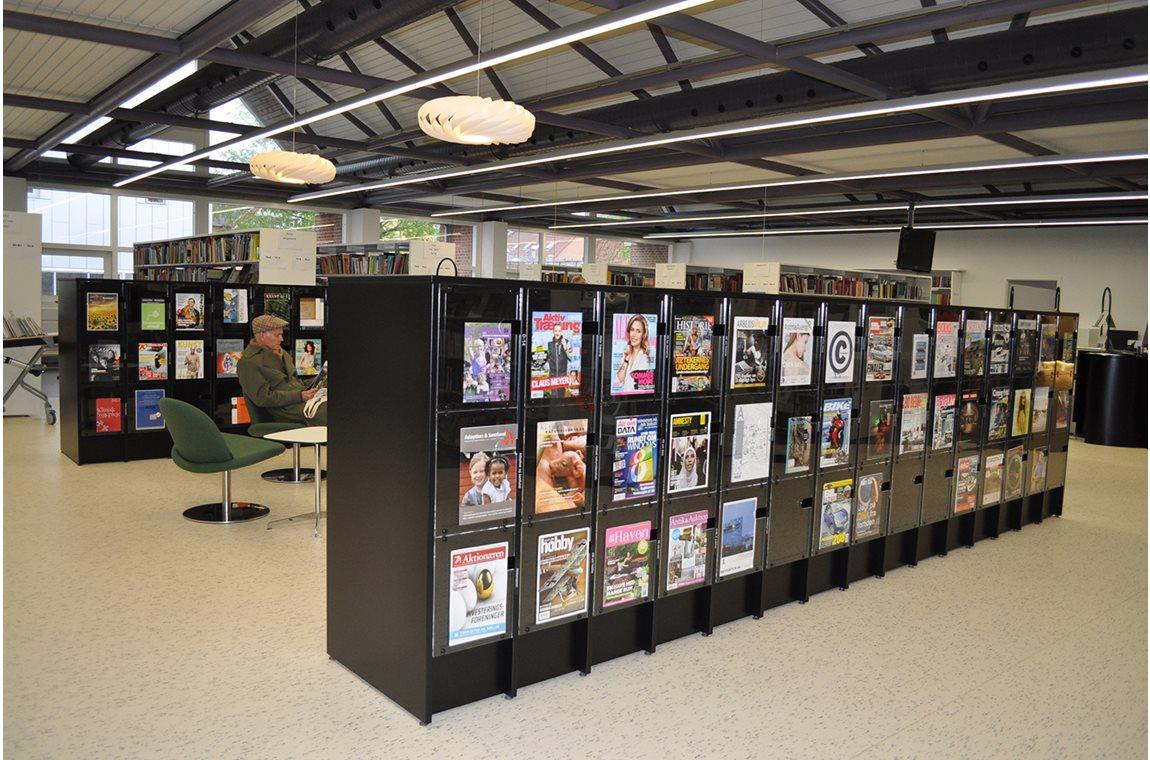 Silkeborg Bibliotek, Danmark - Offentligt bibliotek