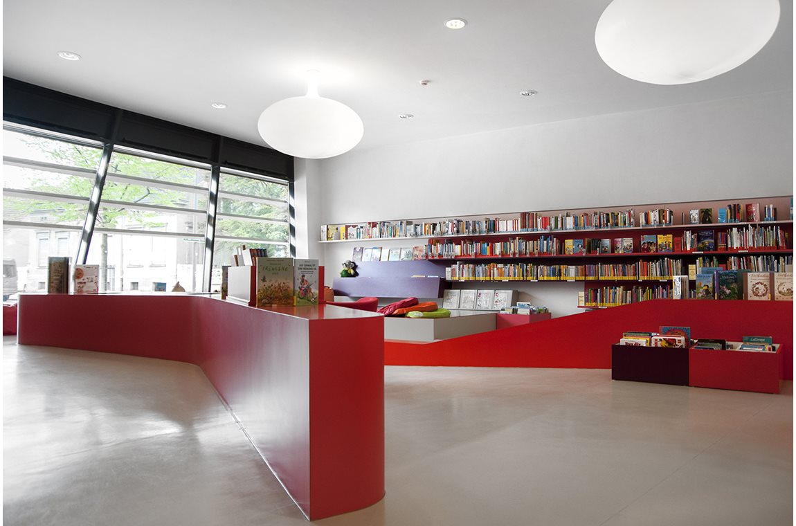 Luckenwalde Public Library, Germany - Public libraries