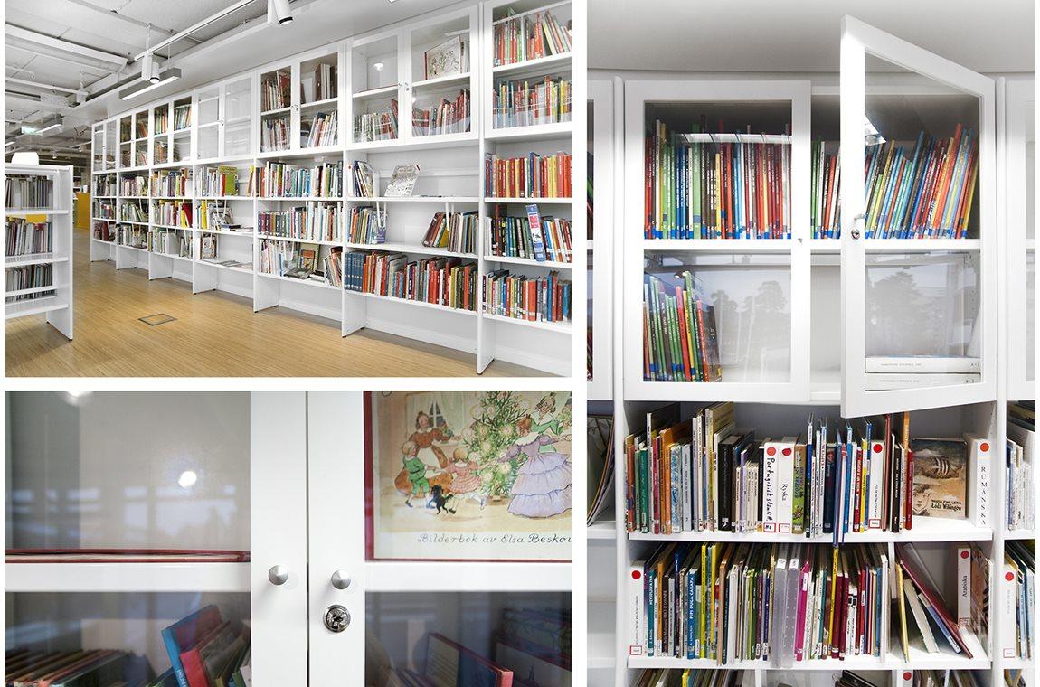 Kungsaengen Public Library, Sweden - Public libraries