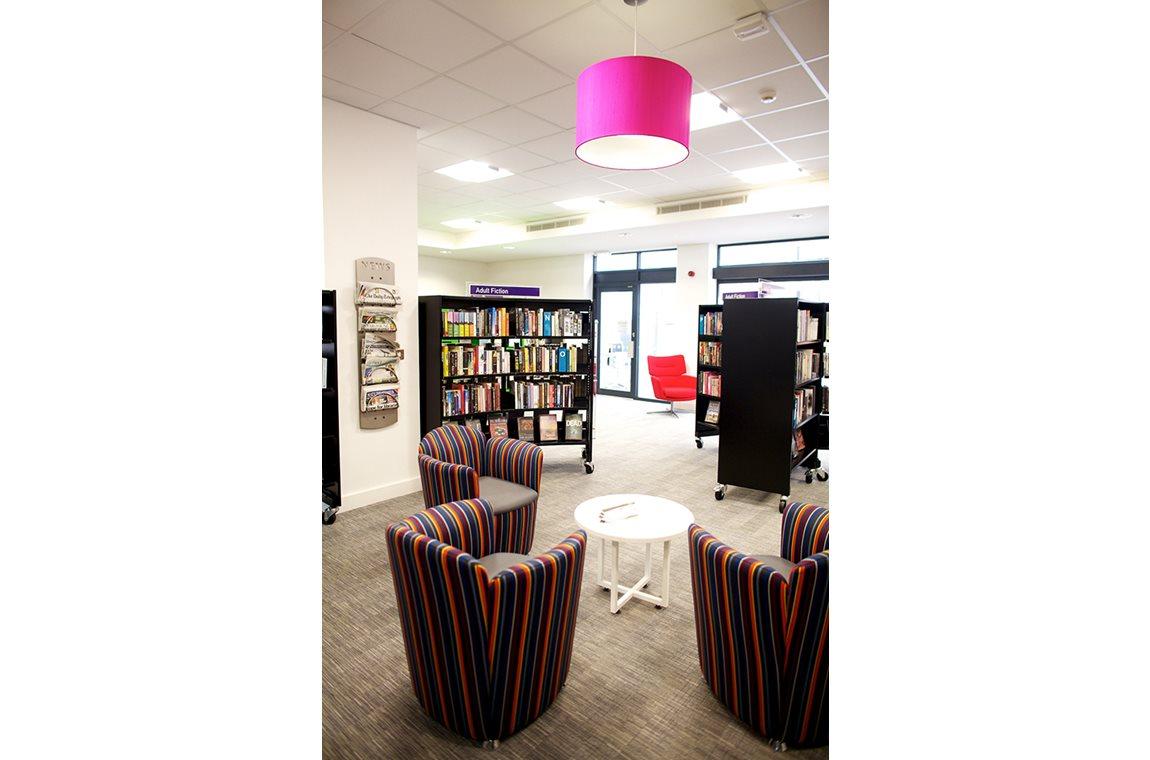 Hayridge bibliotek, Storbritannien - Offentligt bibliotek