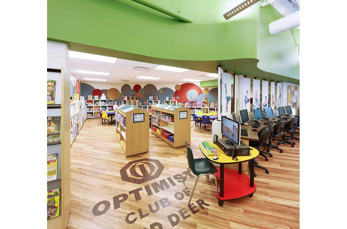 Dawe bibliotek, Canada - Offentligt bibliotek