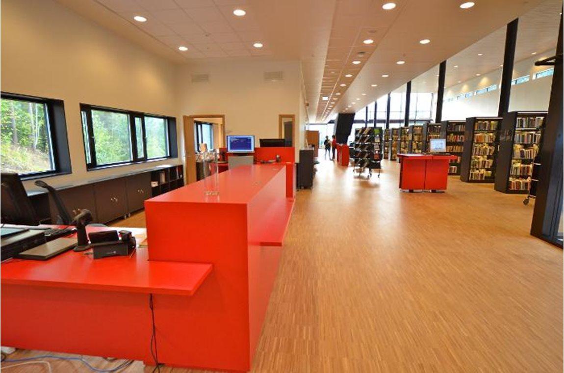 Universiteit van Sogn og Fjordane, Noorwegen - Wetenschappelijke bibliotheek