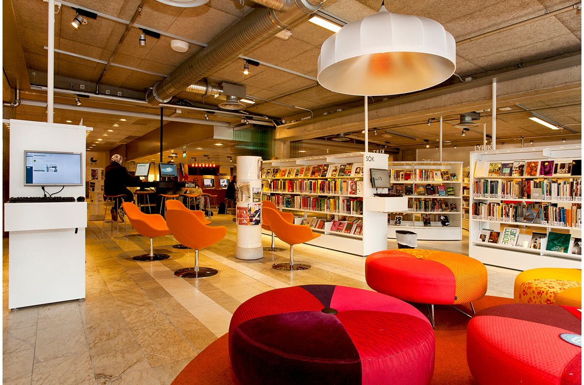 Kulturhaus Stockholm, Schweden - Öffentliche Bibliothek