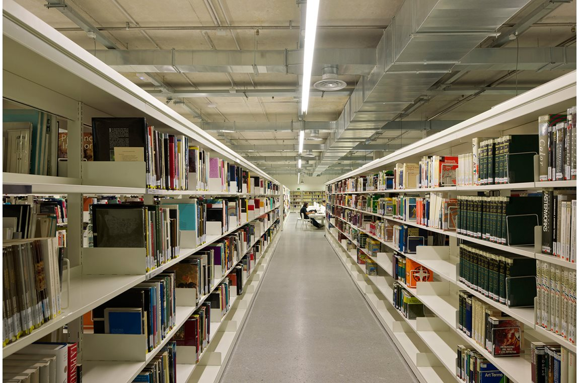 Wetenschappelijke bibliotheek San Sebastian, Spanje - Wetenschappelijke bibliotheek