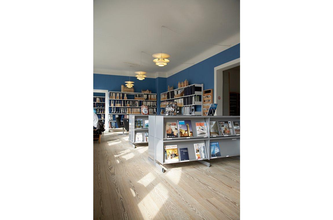 Aarhus Arkitektskole, Danmark - Akademiska bibliotek