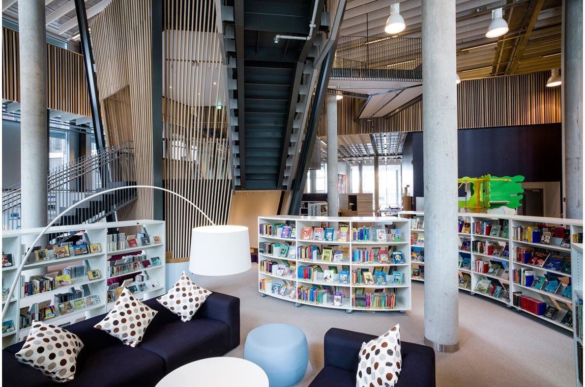 Tangenten Public Library in Nesodden, Norway  - Public libraries