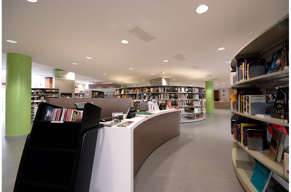 Puteaux bibliotek, Frankrig - Offentligt bibliotek