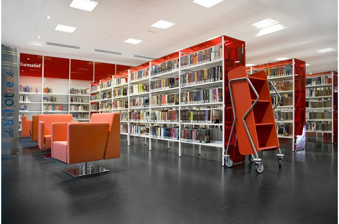 Leidschenveen Public Library, Netherlands - Public libraries