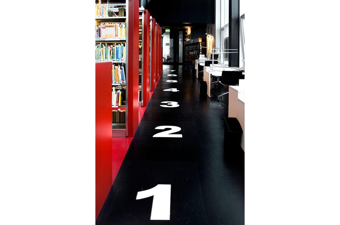 Arnsberg skole og offentlig bibliotek, Tyskland -