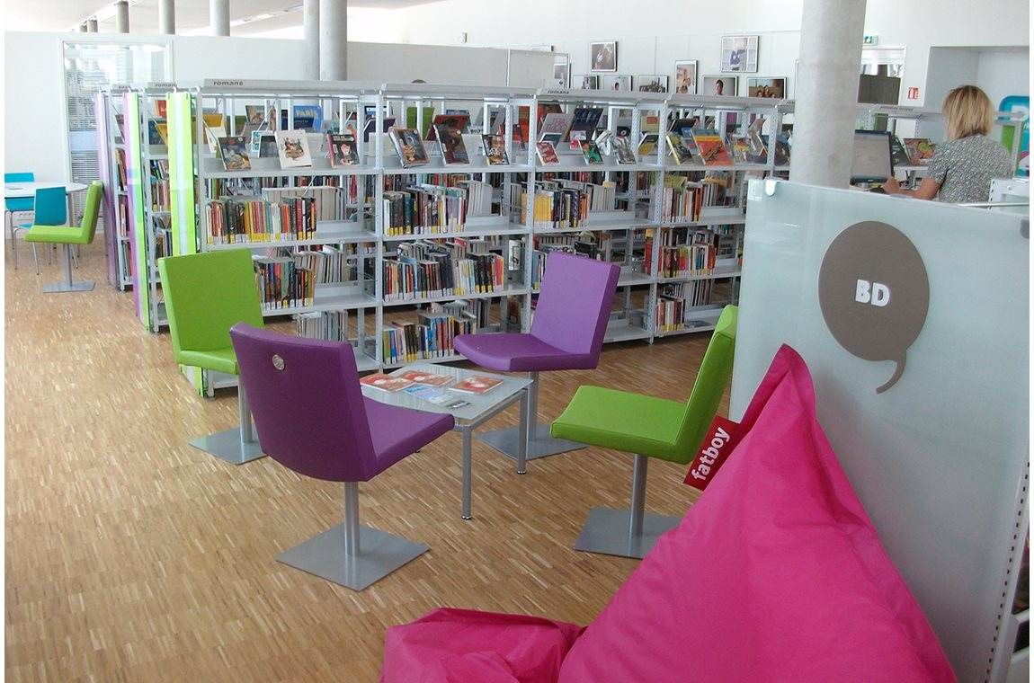 La Duchère Public Library, Lyon, France - Public libraries