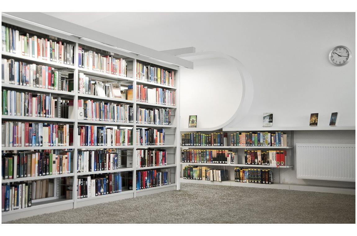 Weiterstadt bibliotek, Tyskland - Offentligt bibliotek