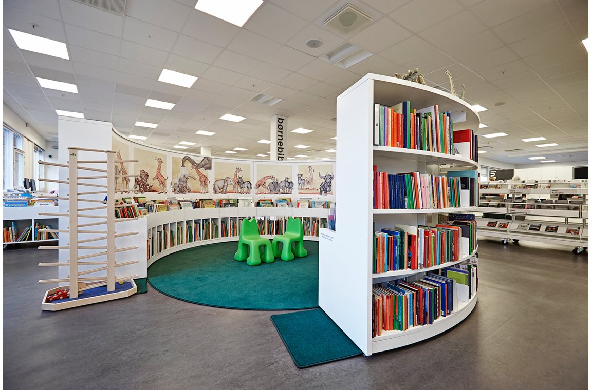 Holte Public Library, Denmark - Public libraries