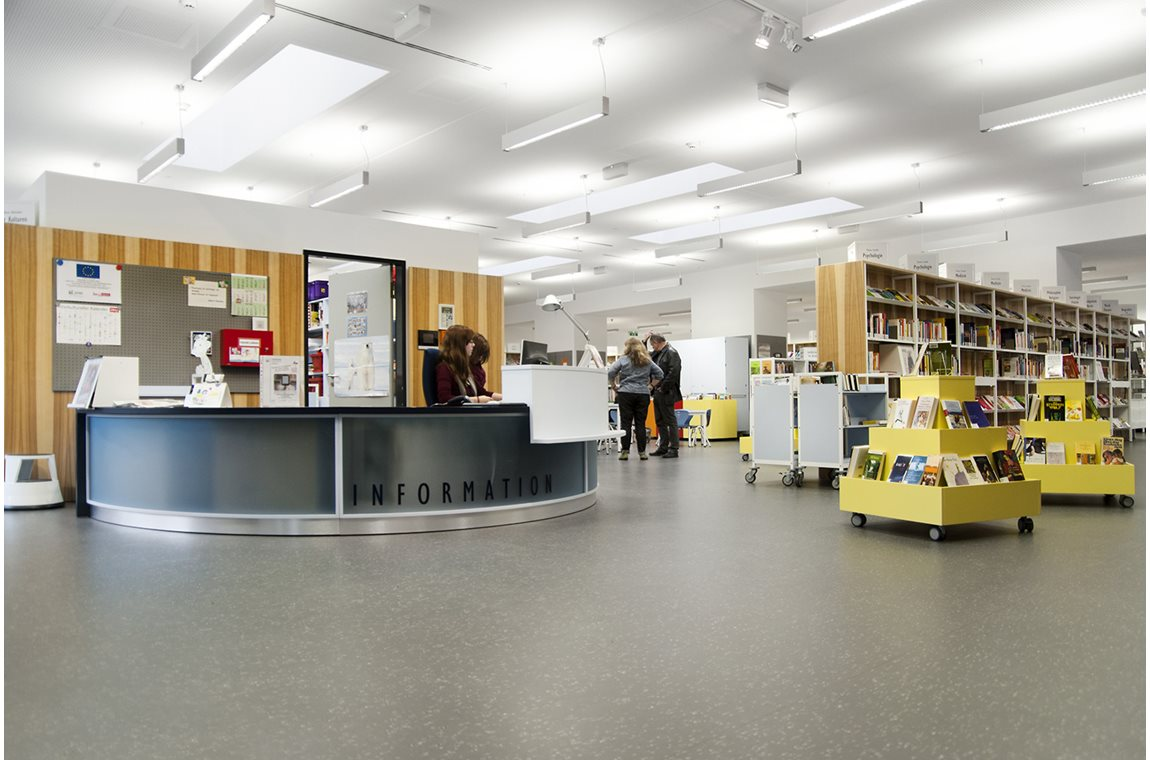 Westerwaldstrasse bibliotek i Berlin, Tyskland - Offentligt bibliotek