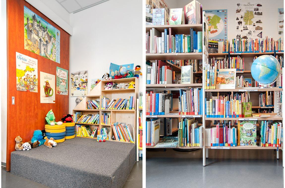 Öffentliche Bibliothek Rangsdorf, Deutschland - Öffentliche Bibliothek