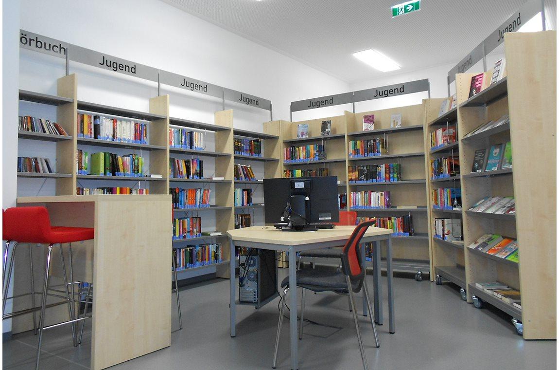 Openbare bibliotheek Spittal an der Drau, Oostenrijk - Openbare bibliotheek